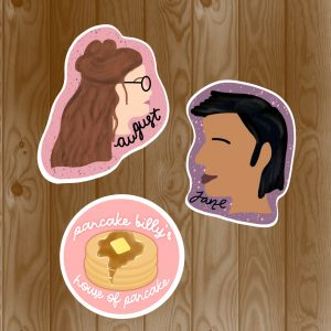 One Last Stop Stickers | Stickers By Scintillare