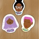Brown Sisters Sticker   Stickers By Scintillare