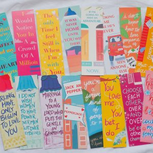 16 Romance Bookmarks | Romance Bookmark Bundle | Casey McQuiston | Emily Henry | Emma Lord | Evie Dunmore | Beth O'Leary Bookmarks By Scintillare
