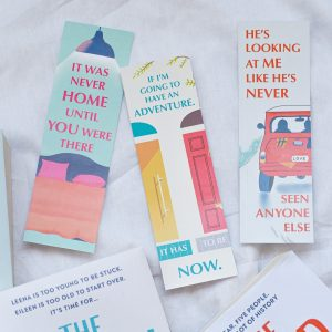 The Flatshare Bookmark | The Switch | The Road Trip | Beth O'Leary Bookmarks By Scintillare